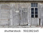 An Old Weathering Wooden Shack