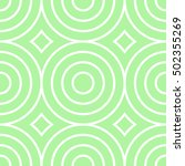 retro textured circle seamless... | Shutterstock .eps vector #502355269