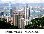 hong kong island photographed... | Shutterstock . vector #50235658