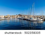 old port  vieux port  of... | Shutterstock . vector #502358335