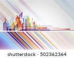 building and city illustration...   Shutterstock .eps vector #502362364