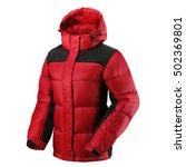 down jacket | Shutterstock . vector #502369801