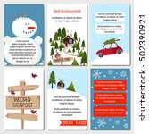 Set Of 6 Lovely Cards Templates....