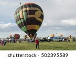 albuquerque  nm  usa   october... | Shutterstock . vector #502395589