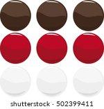 isolated pills  vector... | Shutterstock .eps vector #502399411