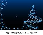 xmas tree | Shutterstock .eps vector #5024179
