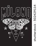 Vintage Milano Butterfly Rock...