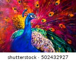 original oil painting on canvas.... | Shutterstock . vector #502432927