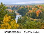 beautiful fall colors on the... | Shutterstock . vector #502476661