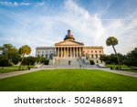 the exterior of the south... | Shutterstock . vector #502486891