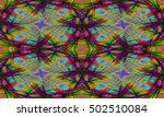 abstract background laser light ... | Shutterstock . vector #502510084