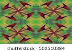 abstract background laser light ... | Shutterstock . vector #502510384