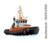 tug boats | Shutterstock .eps vector #502511905