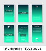 mobile interface ui neon color...