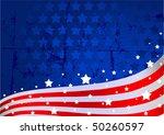 an american flag background | Shutterstock .eps vector #50260597