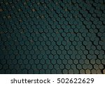 abstract honeycomb background... | Shutterstock . vector #502622629