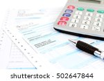 form filling  taxes in italy ... | Shutterstock . vector #502647844