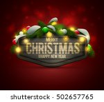 vector realistic illustration... | Shutterstock .eps vector #502657765