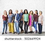 girls friendship togetherness... | Shutterstock . vector #502669924