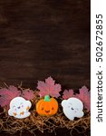 funny gingerbread cookies for... | Shutterstock . vector #502672855