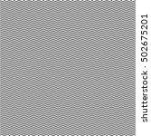 black zig zag line pattern... | Shutterstock .eps vector #502675201