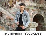 men | Shutterstock . vector #502692061