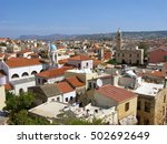 Panorama Of Chania Old Town...