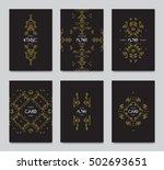 vector retro frame  vintage... | Shutterstock .eps vector #502693651