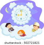 whimsical illustration of... | Shutterstock .eps vector #502721821