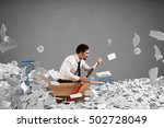 navigate the bureaucracy | Shutterstock . vector #502728049