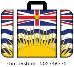 Flag Of British Columbia...