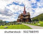View Of Ringebu Stave Church I...