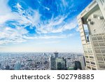business and culture concept  ... | Shutterstock . vector #502798885