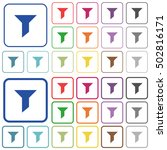 filter color icons in flat... | Shutterstock .eps vector #502816171