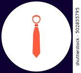 tie simple vector button....