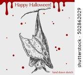 vector linear illustration of... | Shutterstock .eps vector #502862029