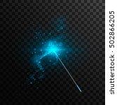 vector illustration of magic... | Shutterstock .eps vector #502866205