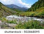 russia  republic of altai ... | Shutterstock . vector #502868095
