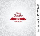 happy new year 2017  vector... | Shutterstock .eps vector #502871461