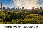 the skyline of midtown from... | Shutterstock . vector #502906945
