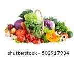 fresh vegetables. | Shutterstock . vector #502917934