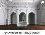 luxury mansion villa interior... | Shutterstock . vector #502930504
