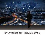 international business concept... | Shutterstock . vector #502981951