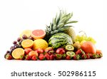 composition with assorted... | Shutterstock . vector #502986115