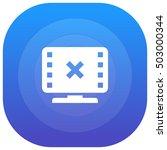 no video purple   blue circular ...