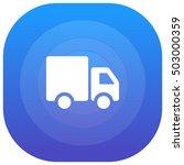 truck purple   blue circular ui ...