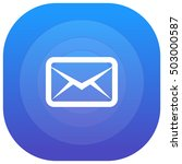 message purple   blue circular...