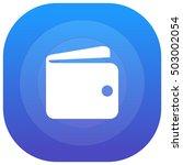wallet purple   blue circular...