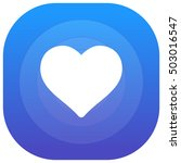 heart purple   blue circular ui ...