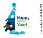 2017 christmas and new year... | Shutterstock .eps vector #503016601